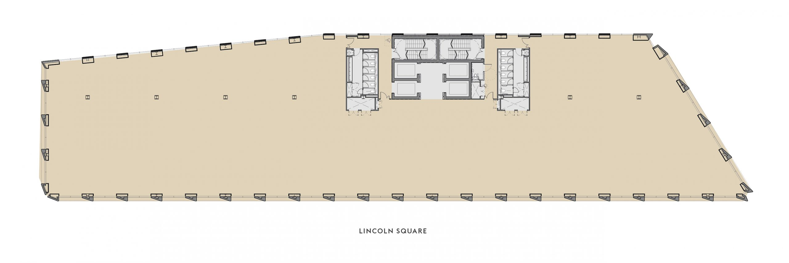 2nd to 5th floor plan