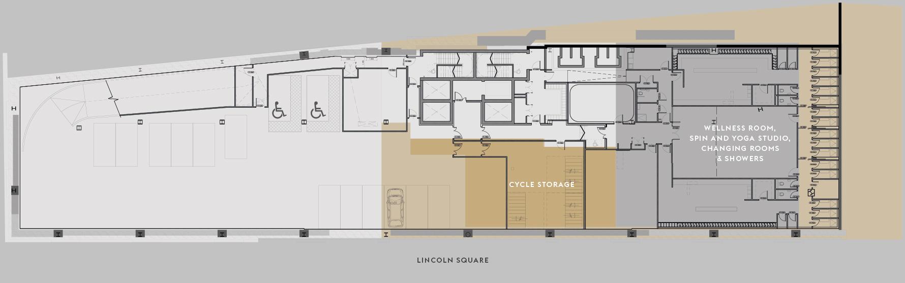 Full basement floor plan