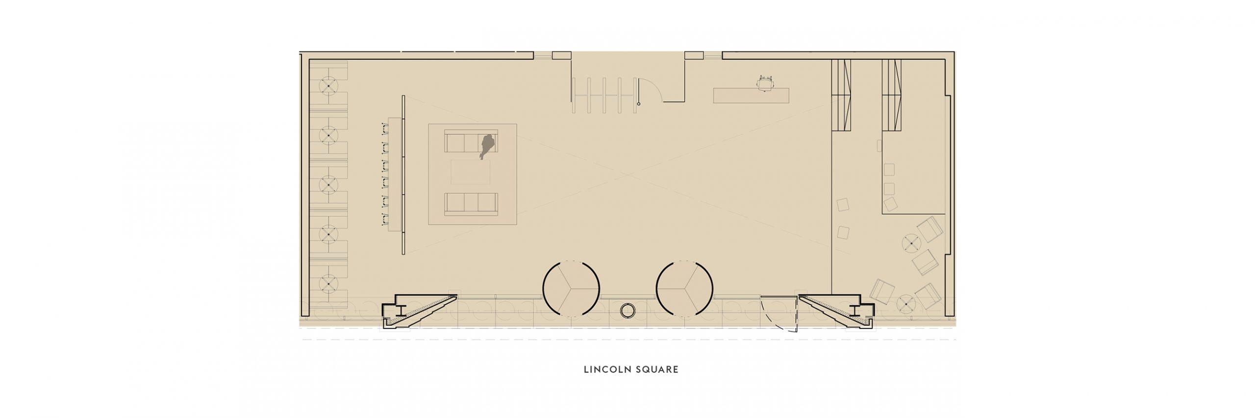 Reception floor plan